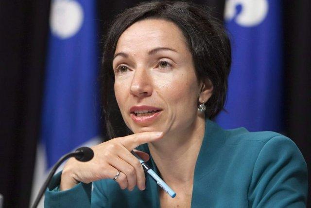 La ministre des Ressources naturelles, Martine Ouellet, a... (La Presse Canadienne)