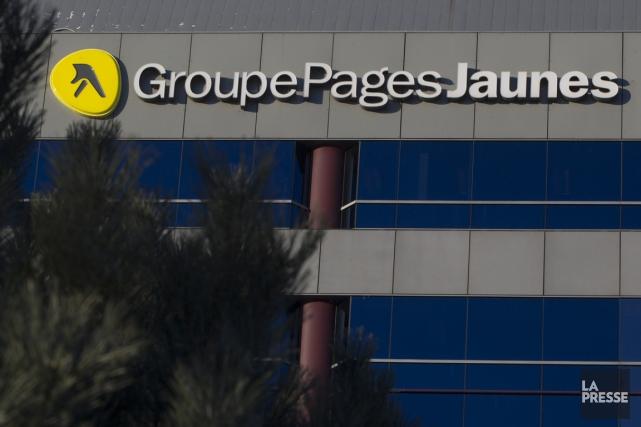Les bureaux de Groupe Pages Jaunes, filiale de... (Photo Ivanoh Demers, archives La Presse)
