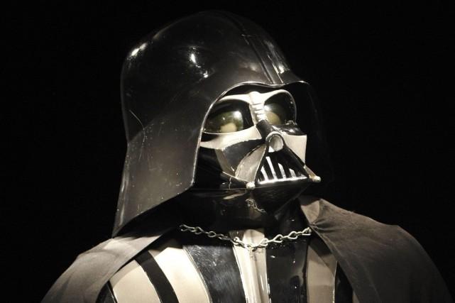 Le costume original de Darth Vader, qui aurait... (AP)