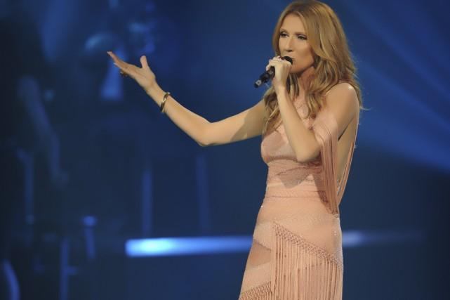 Céline Dion ne sera pas présente vendredi au gala des Victoires de la musique,... (Photo fournie par les Productions J)
