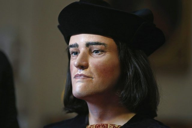 Une reconstruction faciale de Richard III.... (Photo Reuters)