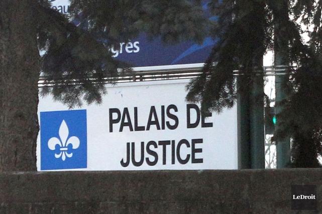 Le ministère public demande une peine de 30 à 36 mois de détention fermes pour... (Patrick Woodbury, Archives LeDroit)