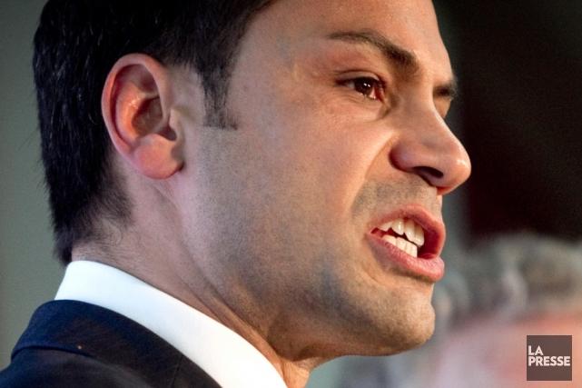 Le député libéral de Laurier-Dorion Gerry Sklavounos.... (Photothèque La Presse)