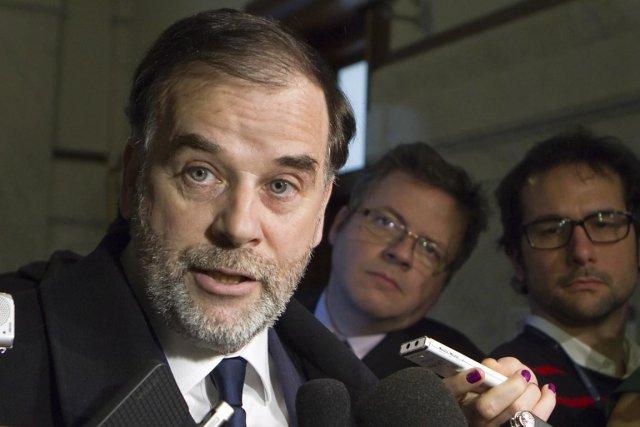 Le ministre Pierre Duchesne.... (Photo: Clément Allard, La Presse Canadienne)