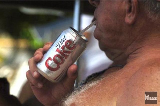 Les sodas «légers» (dans lesquels le sucre est... (Photo: Bernard Brault, La Presse)