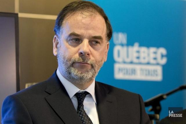 Pierre Duchesne, ministre de l'Enseignement supérieur.... (Photo Alain Roberge, La Presse)