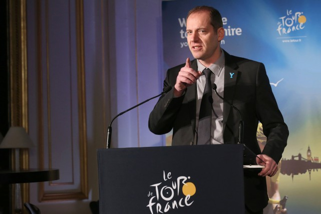 Christian Prudhomme, le directeur du Tour de France.... (PHOTO THOMAS SAMSON, AFP)