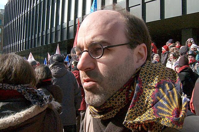 Alain Deneaultprononcera la conférenceLes entreprises multinationales: un pouvoir... (Photo ONF)