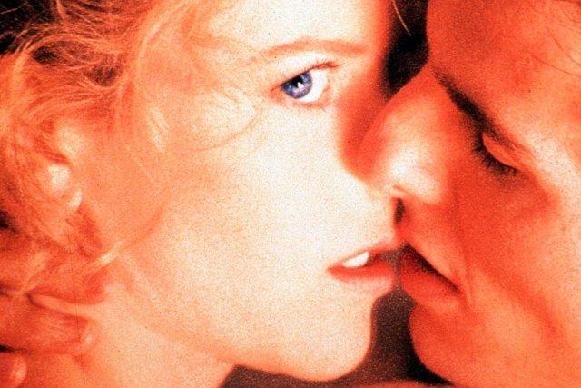 Nicole Kidman et Tom Cruise dans Les yeux...