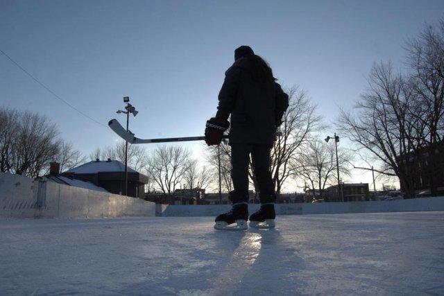 Trois rivi res veut une patinoire ext rieure r frig r e for Patinoir exterieur