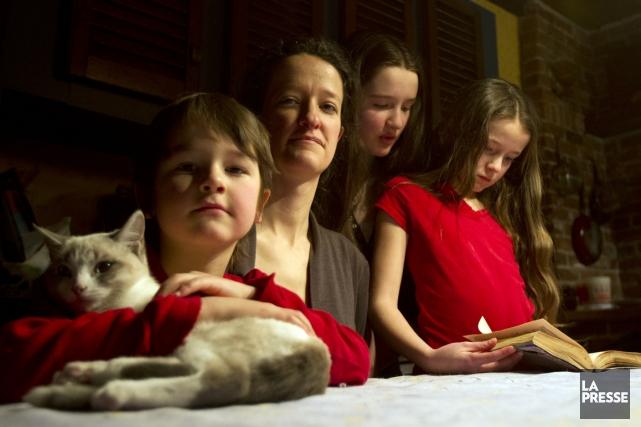 « Les enfants fonctionnent très bien dans cette... (Photo Olivier Jean, La Presse)