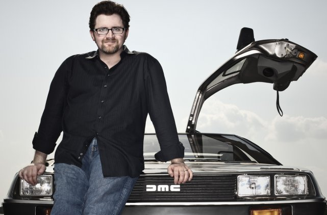 Ernest Cline, auteur du livre Ready Player One,... (Photo: fournie par Michel Lafon)