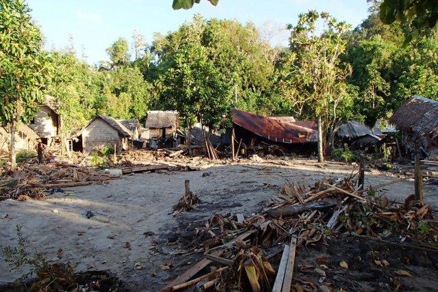 Jusqu'à 20 villages ont été rayés de la... (PHOTO ARCHIVES REUTERS)