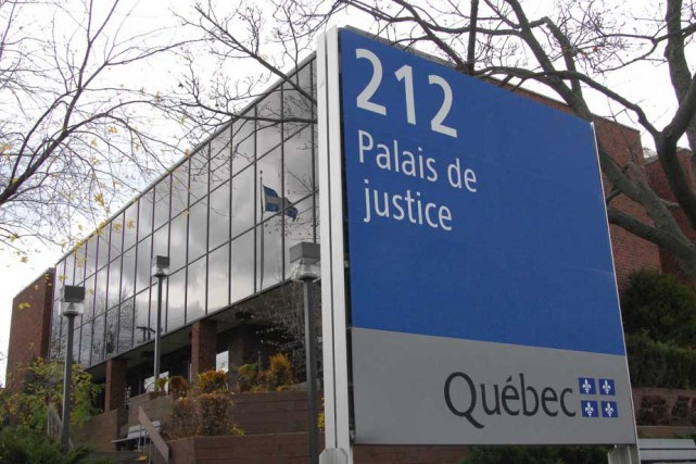 Le palais de justice de Shawinigan.... (Photo: Sylvain Mayer)