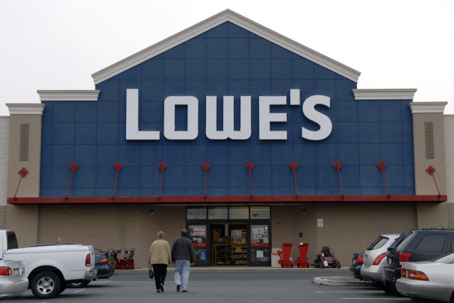Le bénéfice net de Lowe's (LOW) s'est amélioré de 6% au... (PHOTO MIKE MERGEN, ARCHIVES BLOOMBERG)