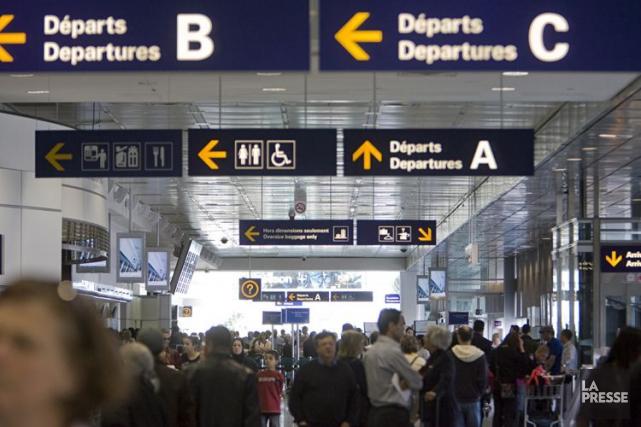 Pour les voyageurs à destination des États-Unis, tout... (Archives La Presse, David Boily)