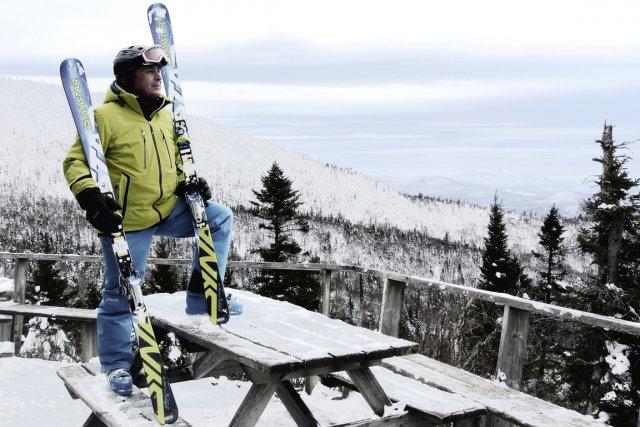 Natif de Matane, Jacques Chouinard a le ski... (Photo : Bernard Brault, La Presse)