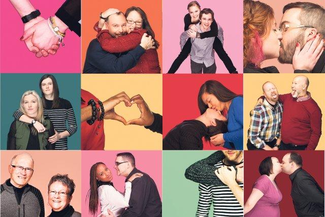 L'amour est le seul moteur de la survie, a chanté Leonard Cohen. C'est en... (Photos: Anne Gauthier, collaboration spéciale)