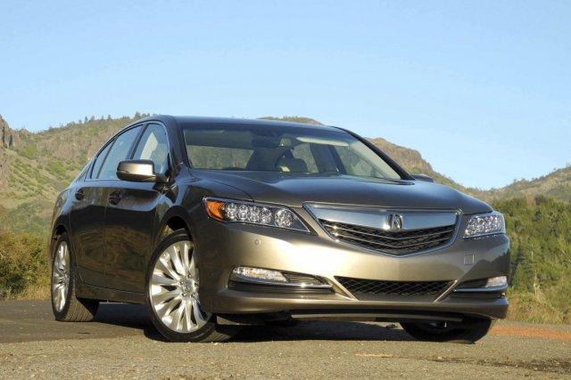 La nouvelle Acura est donc conventionnelle, car elle... (Photo : Éric LeFrançois, collaboration spéciale La Presse)