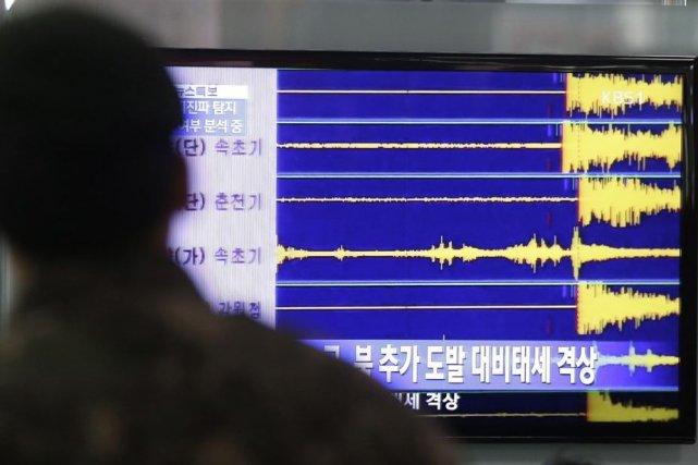 Plus tôt mardi, le porte-parole du ministère sud-coréen... (Photo d'archives AFP)