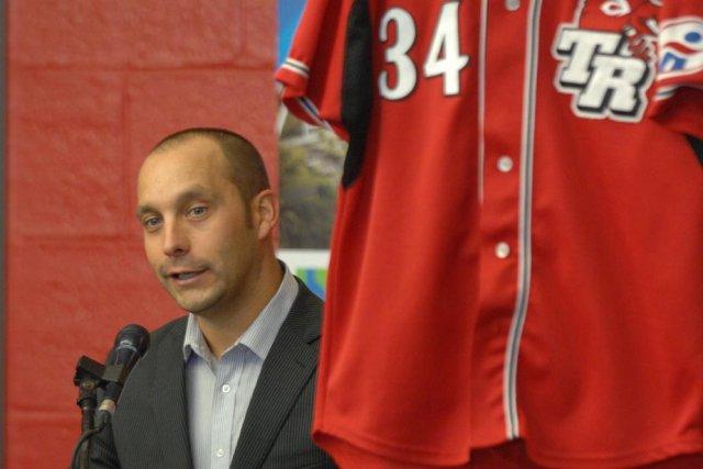 Le président de la nouvelle équipe des Aigles... (Photo: Sylvain Mayer)