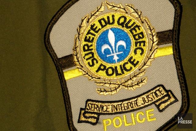 La Sûreté du Québec a arrêté un homme lundi après qu'il ait proféré des menaces... (Photo archives La Presse)