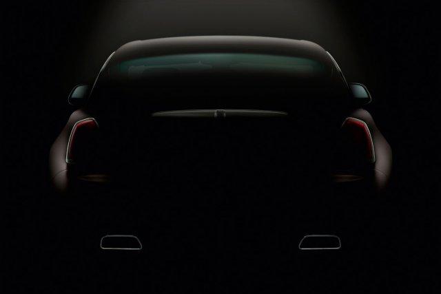 La dernière image de la Wraith, publiée le... (Photo fournie par Rolls-Royce)