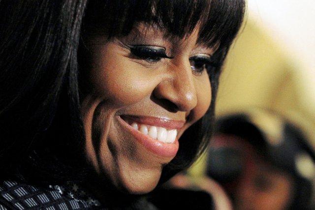 La Première dame des États-Unis Michelle Obama.... (PHOTO MOLLY RILEY, ARCHIVES AP)