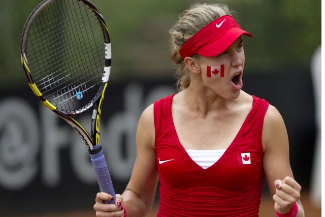 Eugenie Bouchard... (Photo Raul Arboleda, AFP)