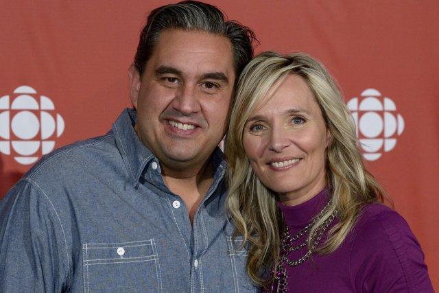 Hier matin, Marc Hervieux et Marie-Josée Taillefer s'échangeaient... (Photo: fournie par Radio-Canada)