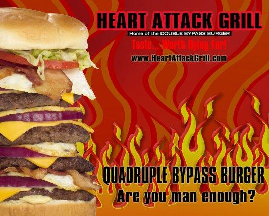 Un porte-parole non officiel pour le Heart Attack Grill à Las Vegas est mort...