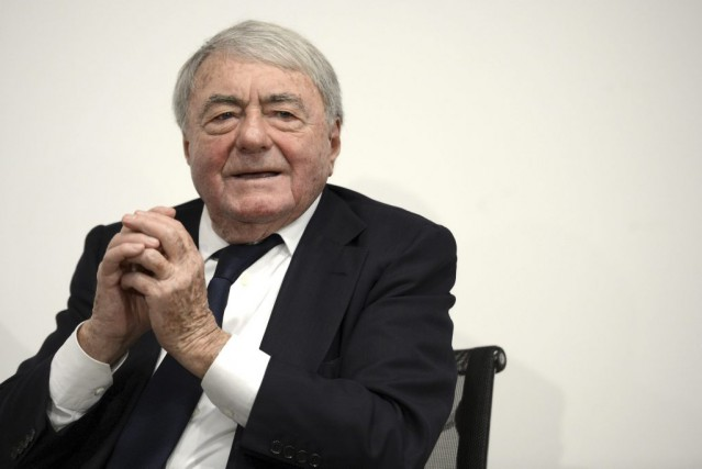 Le documentariste et producteur français Claude Lanzmann... (PHOTO ARCHIVES AFP)