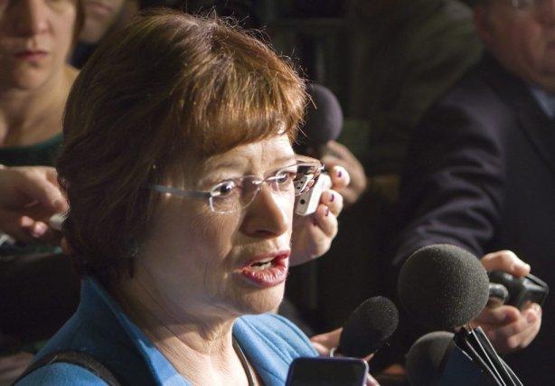 La ministre de l'Éducation, Marie Malavoy... (La Presse Canadienne)