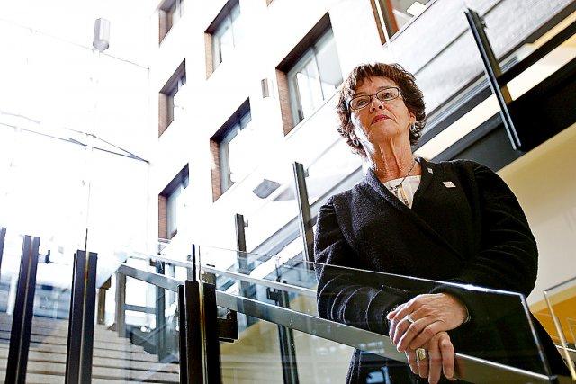 La présidente de la CSQ, Louise Chabot, a... (Photothèque Le Soleil, Yan Doublet)