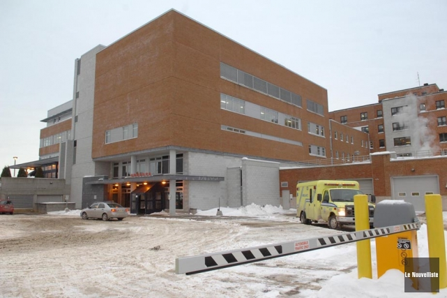 Le Centre hospitalier régional de Trois-Rivières.... (Photo: Archives Le Nouvelliste)