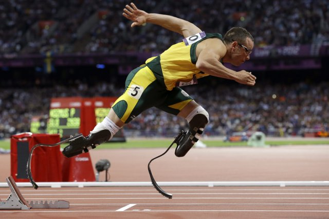 Oscar Pistorius... (Photo Anja Niedringhaus, archives AP)