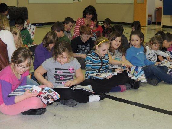 C'est dans le cadre des Journées de la persévérance scolaire qu'a été lancé, à... (La Tribune, Ronald Martel)
