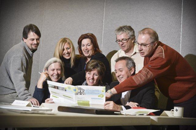 Éric Graillon, Petronella Van Dijk , Marie-Claude Bibeau,... (Imacom Jocelyn Riendeau)