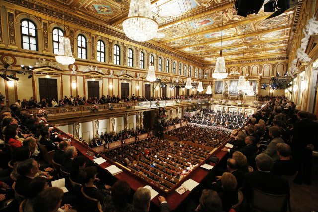 L'orchestre philarmonique de Vienne.... (Photo AFP)