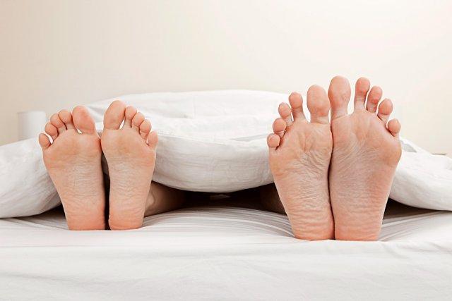 Au lit, avez-vous une place attitrée? Côté gauche...