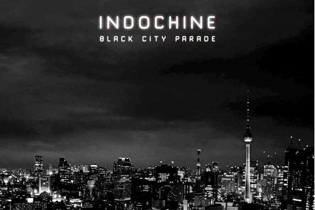 Indochine - Black City Parade affiche