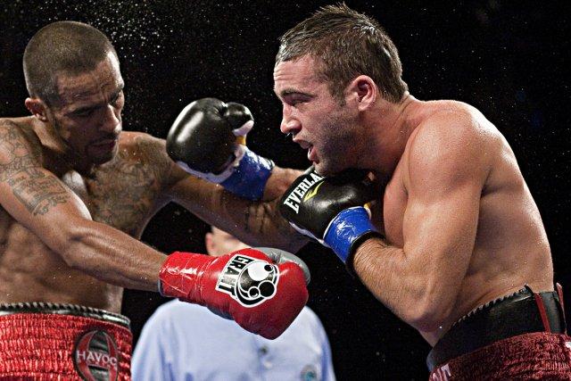 Le boxeur montréalais Antonin Décarie (à droite) pourrait... (Photo Alain Décarie, collaboration spéciale)