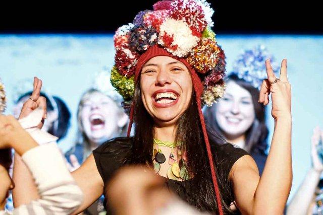 C'est une Mexicaine habitant Québec depuis huit ans... (Photo Le Soleil, Yan Doublet)