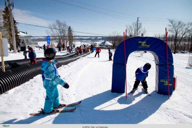L'Expérience maneige pour s'initier au ski alpin, au... (Photo Luc Charbonneau)