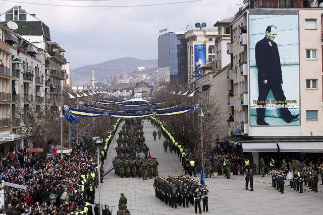 Des troupes de la Force de sécurité du... (Photo: AP)