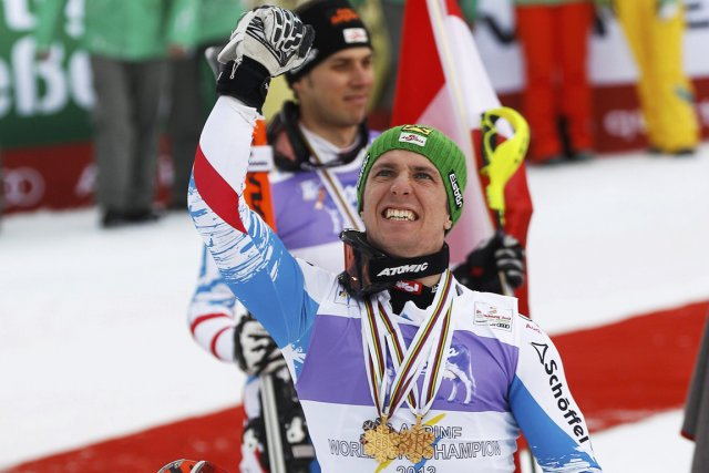 Marcel Hirscher... (Photo : Leonhard Foeger, Reuters)