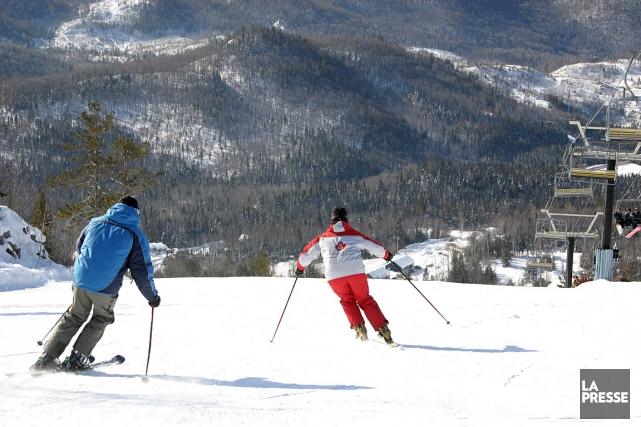 L'accident mortel en traîneau est survenu au centre... (Photo: archives, fournie par la Station de ski Val Saint-Côme)