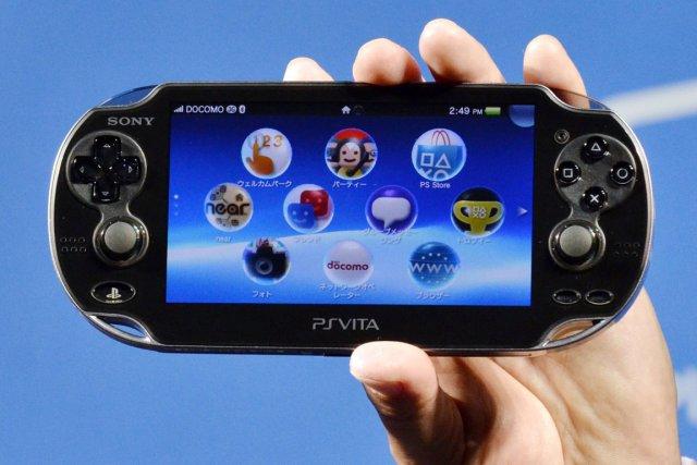 À partir du 28 février, sa PS Vita... (Photo AFP)