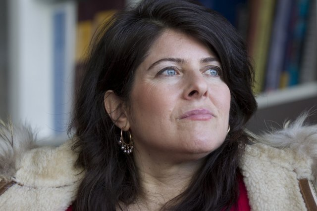 La journaliste Naomi Wolf, auteure de l'essai controversé... (Photo: Olivier Jean, La Presse)