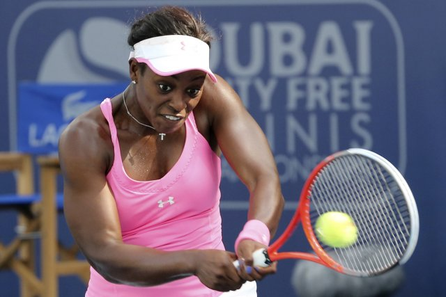 Sloane Stephens s'est inclinée 5-7, 6-3, 6-2 devant... (Photo : Ahmed Jadallah, Reuters)